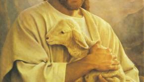 Jesus e o cordeiro