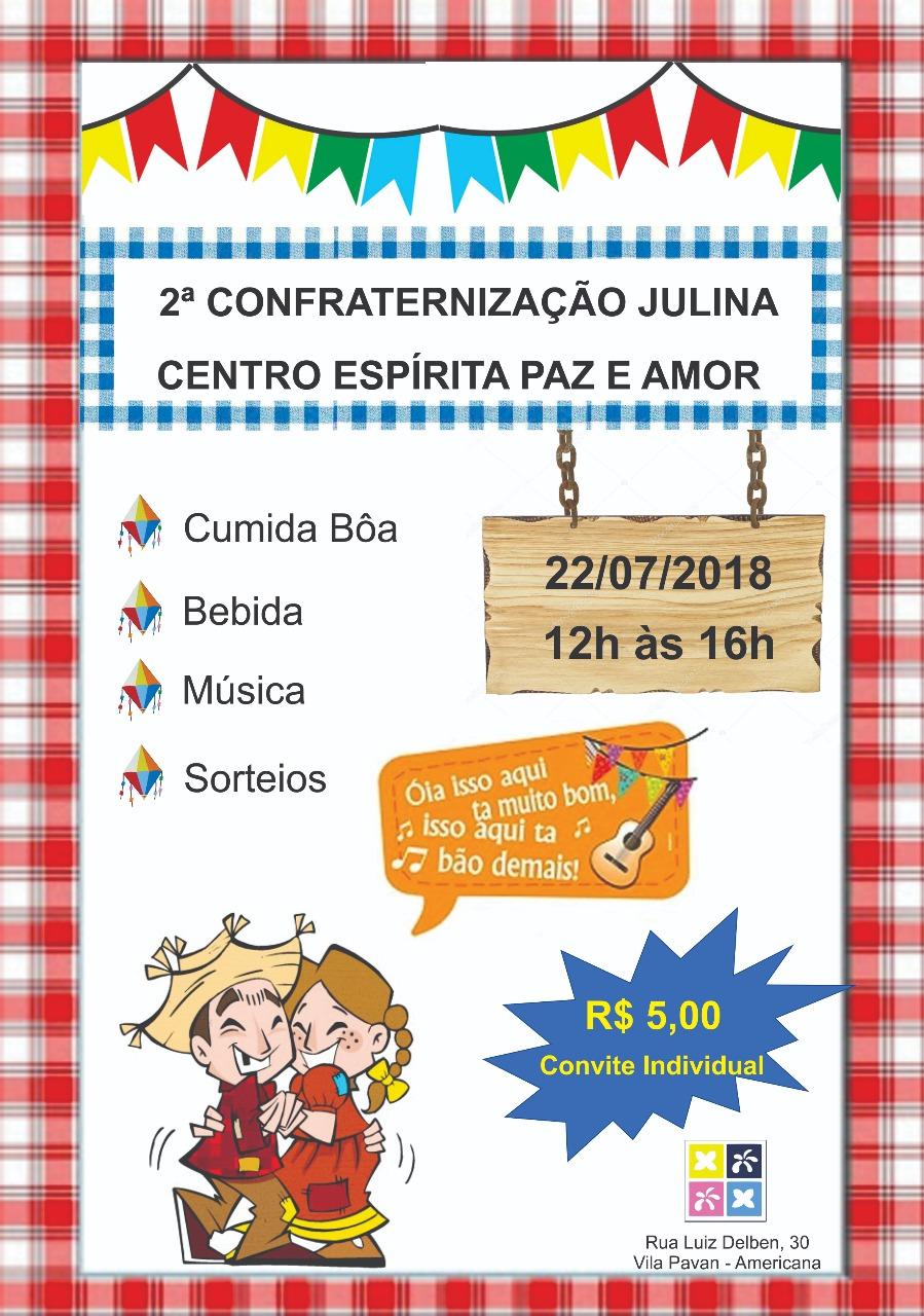 festa julina 2018